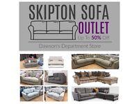 HALF PRICE Sofas From £299