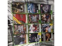 Xbox 360 + 30 games + 120GB hard drive with 1 controller