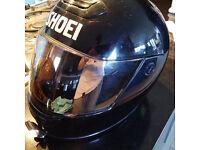 Cheap Shoei motorcycle helmet, size XL
