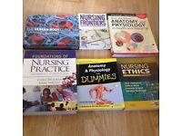 Nursing books, great condition. 7 books