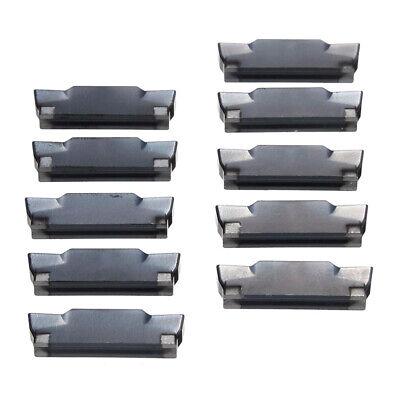 Satz mit 10 MGMN400 M Klingendreheinsätzen Stahlbearbeitung Fräszubehör