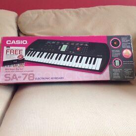Casio keyboard SA-78