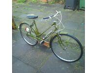 "Vintage Dutch Style 26"" 3 speed Ladies Town Bike Shopper Bike WARRANTY & DELIVERY"