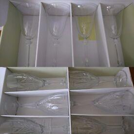 Galway irish crystal glasses