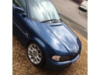 E46 325 BMW for sale! Cruise control, leather interior, spare full set of wheels!!