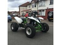 Road legal quad bike Polaris 900cc engine