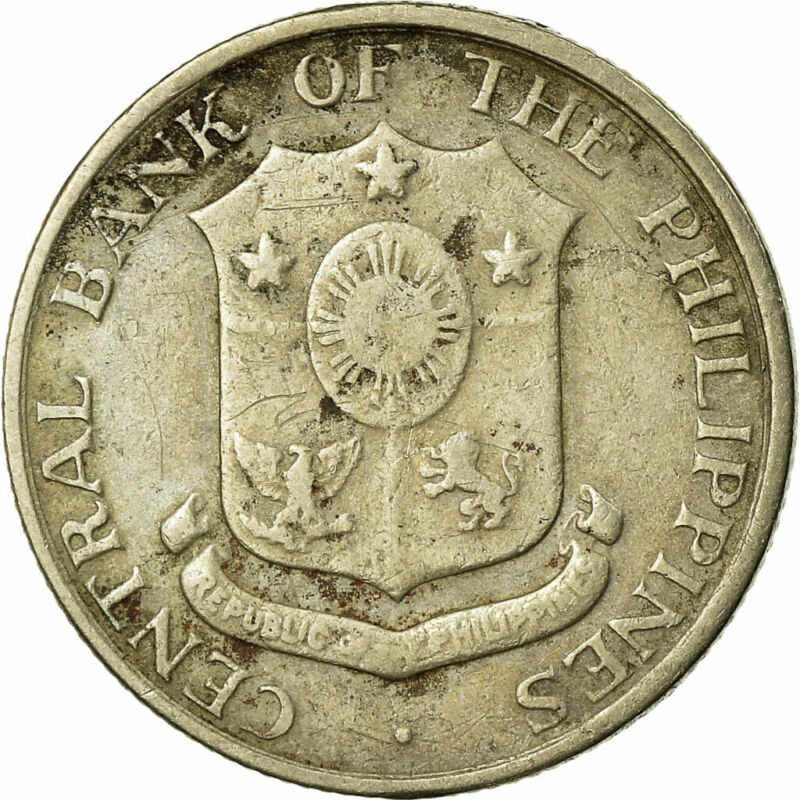 [#679265] Coin, Philippines, 10 Centavos, 1962, EF(40-45), Copper-Nickel-Zinc