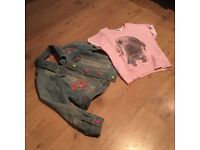 7-8 year old girls clothes job lot bundle 4 quality items