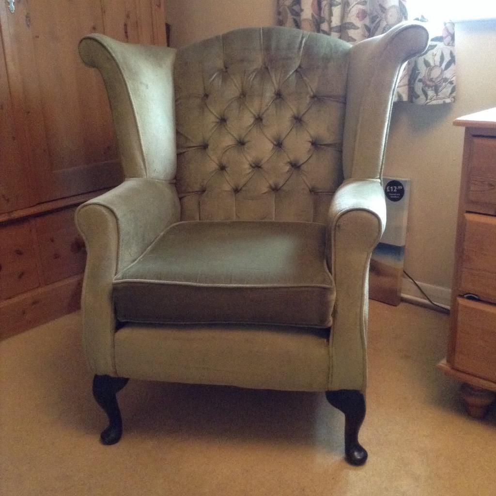 Wing Back Chair In Sidcup London Gumtree