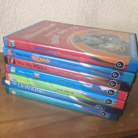 7 Disney cd and books