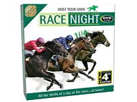 A Genuine Chatwell Game Host Your Own Race Night DVD Game Opened But Never Used