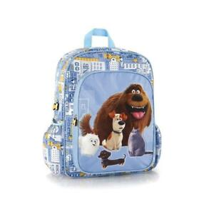 Heys Secret Life Of Pets Deluxe Classic Designed Adjustable Foam Padded Shoulder Straps Kids Backpack 15 Inch