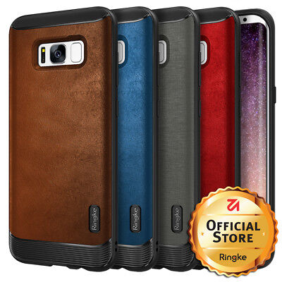 For Samsung Galaxy S8 / S8 Plus Case | Ringke [FLEX S] Leather Style Cover