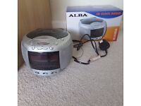 Alba CD Clock Radio