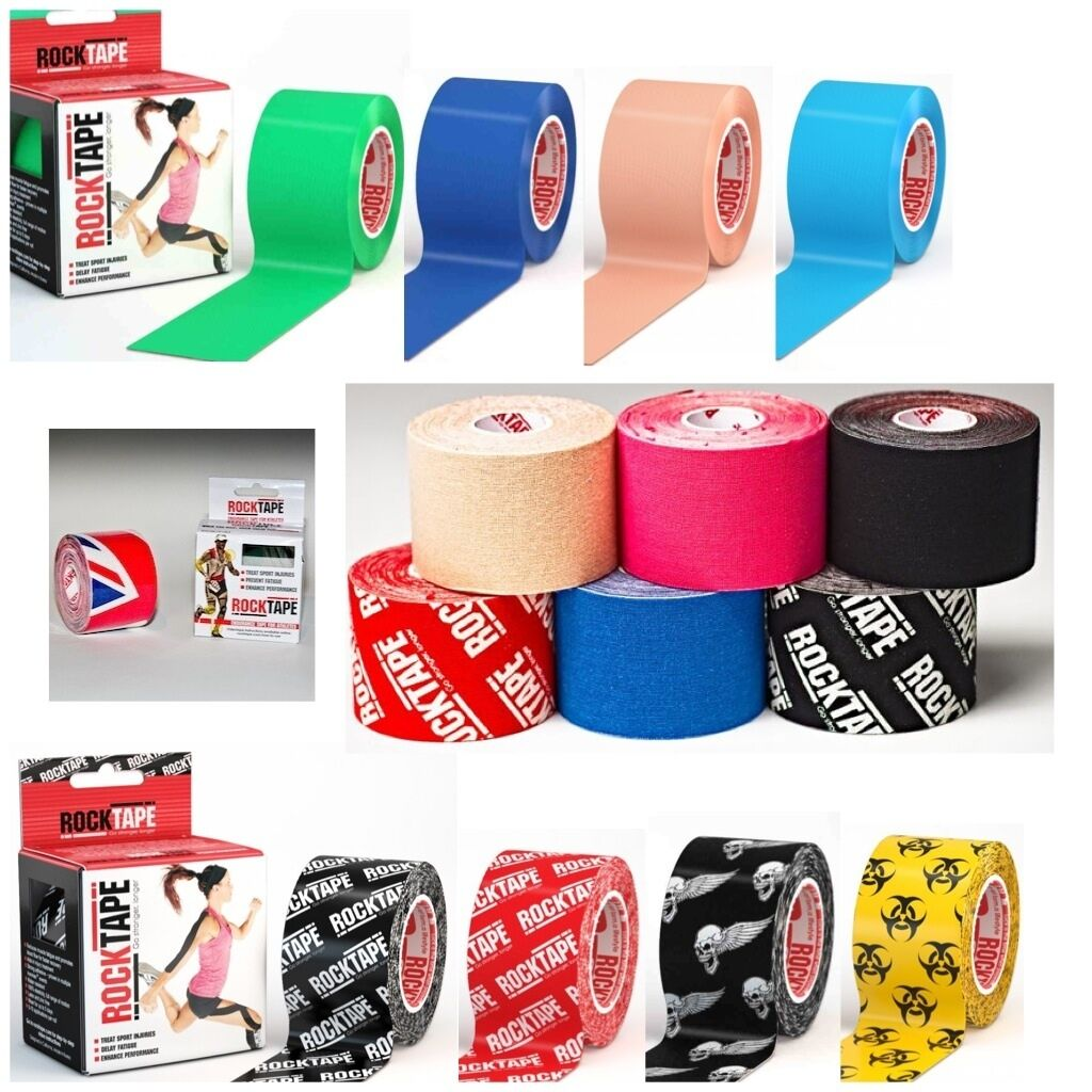 Rocktape Kinesiology Elastic Sport Tape Physio Running Football Injury Preventio