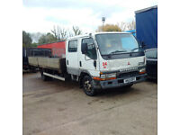Mitsubishi Canter FE649 4D34T 3.9 diesel 6 tyres 7.5 ton truck.