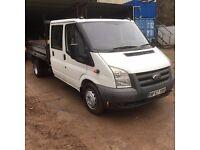 2007/57 Transit tipper crew cab £3950 + VAT