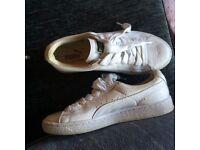 Puma basket trainers