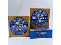 Sex Wax/Surfboard Wax: All Temperatures. Free Delivery.