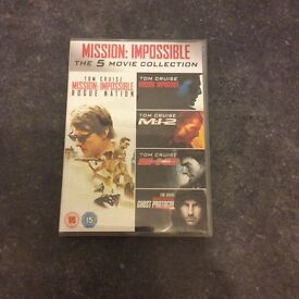 Mission Impossible 1-5 complete collection
