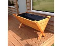 Wooden planter - herb vegetable garden. New and handmade in Bath