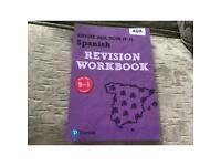 AQA GCSE Spanish revision workbook.