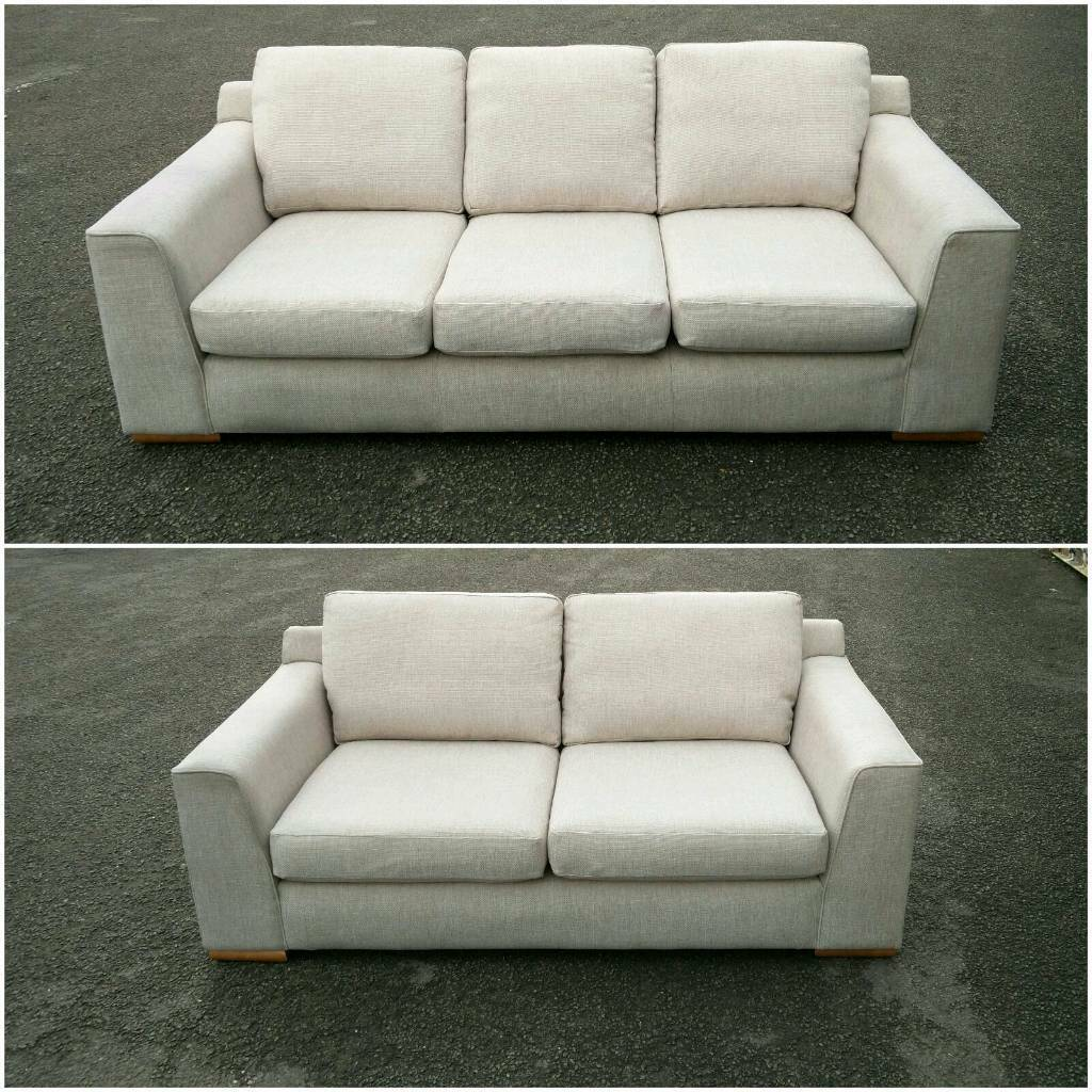 MARK & SPENCER 3 AND 2 SEATER SOFAS / SUITE / FREE LOCAL DELIVERY