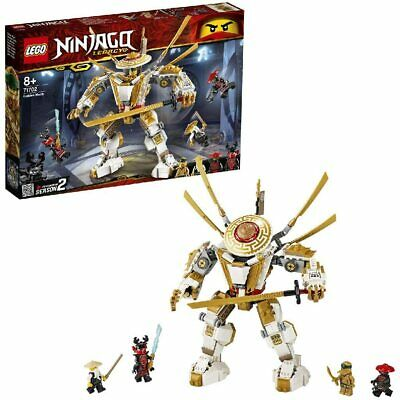 LEGO 71702 Ninjago Legacy Golden Ninja Mech Season 2 Kids Building Toy Playset