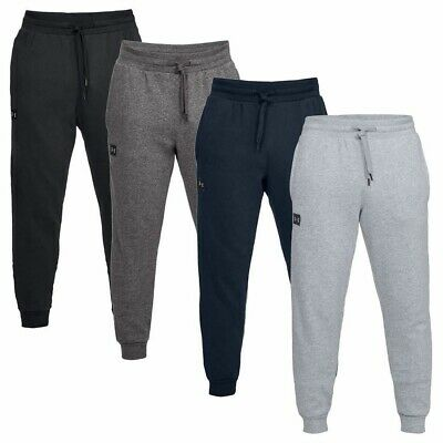 New Mens Under Armour Fleece Joggers Tracksuit Bottoms Track Sweat Jogging Pants