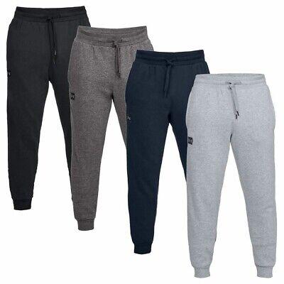 New Mens Under Armour Fleece Joggers Tracksuit Bottoms Track Sweat Jogging Pants
