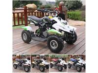 Hawkmoto 50cc Dirt Ninja Mini Off-Road Petrol Quad Bike