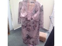 BRAND NEW ELEGANT WEDDING GUEST/MOTHER OF THE BRIDE OUTFIT - SIZE 12 - NEVER WORN