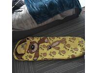 Childs sleeping bag x2 vgc season 2