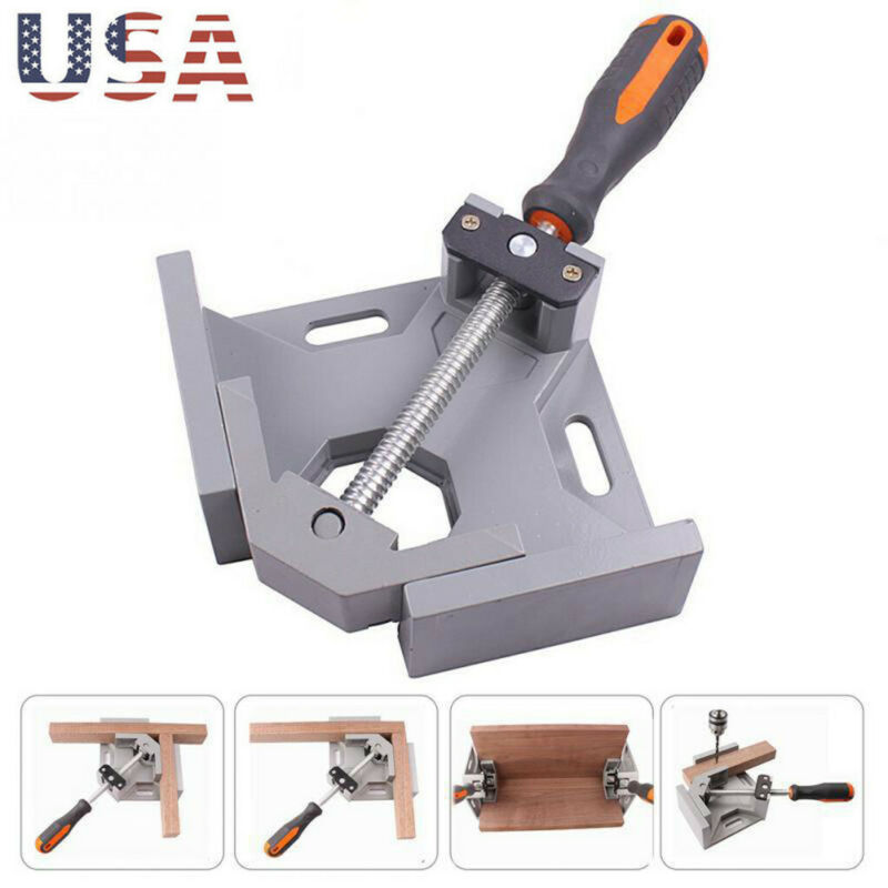 Aluminium Single Handle 90 Degree Right Angle Clamp Photo Fr