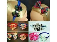 Girls Ladies Headbands Handmade NEW