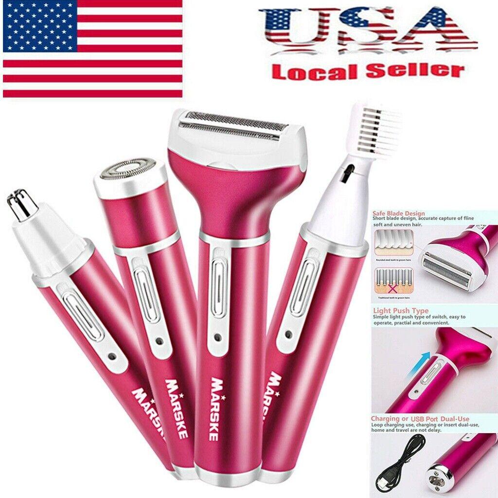 Women Electric Shaver Ladies Razor Wet Dry Rechargeable Hair