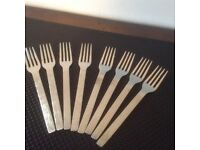 Viners Sable Stainless steel Dessert Forks