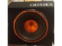 "EDGE STREET SERIES ED512A 12"" 900 WATT SUB AND AMP"