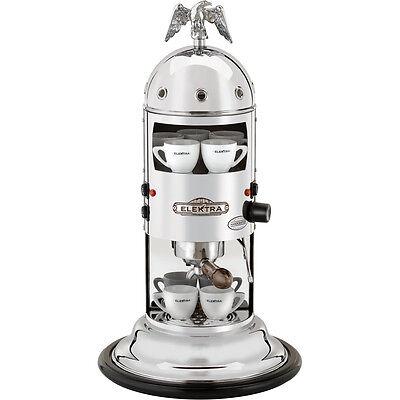 Elektra Mini Verticale A1 Espresso Coffee Cappuccino Maker Machine Chrome 110v