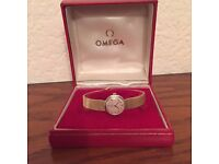 Omega Ladies Gold Watch