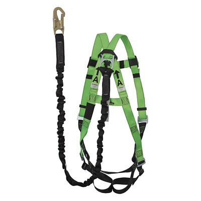 Peakworks Universal 5-point Full Body Harness With Lanyard Kit