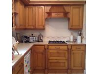 Complete kitchen including built in freezer and dishwasher
