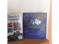 2 books about Minerals & Gemstones and Magic Spells.