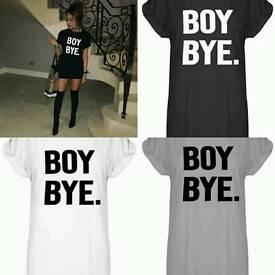 Celeb Inspired BOY BYE T-shirt