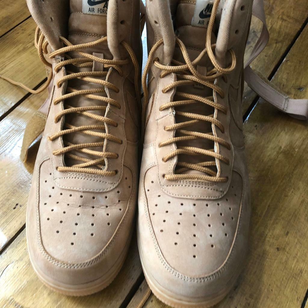 Nike Air Force 1 High LV8 Wheat UK 10.5 | in Redbridge, London | Gumtree