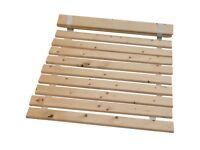 Bed Slats Solid Pine -Replacement Wooden Bed Slats - 5FT Kingsize = 152CM