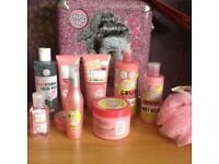 Soap&glory products and storage bundle