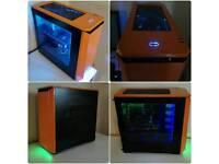 High Performance Gaming PC 8 x Core /12GB / EVGA GTX 4GB / SDD /Many Games