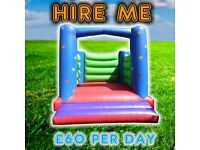 BOUNCY CASTLE HIRE FROM £60