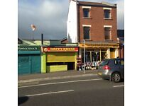 To let one bedroom apartment fronting falls road